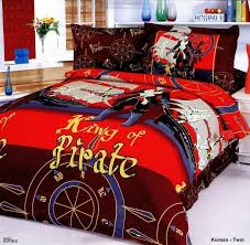 Boys Duvet Covers Twin Boys Bedding Sheet Set With Pirate Designs Korsan Junior Duvet