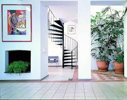 stair breathtaking home exterior design ideas using white metal