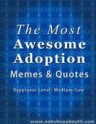 the most awesome adoption quotes and memes fostercare adoption