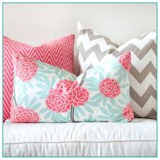 Good Coral Decorative Pillows And Best Turquoise And Coral Throw