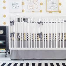 Gray Chevron Crib Bedding Sophistication With Grey Crib Bedding Lostcoastshuttle Bedding Set