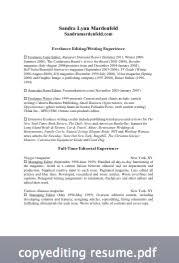 copy editor resume mardenfeld s copy editing resume mardenfeld