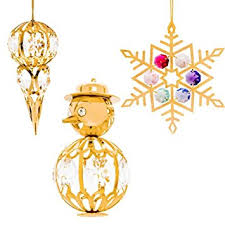 gold plated christmas ornaments 24k gold plated studded christmas tree