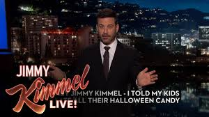 hey jimmy kimmel i ate all my kid u0027s halloween candy youtube