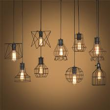 Metal Ceiling Light Shades Retro L Shades Industry Metal Pendant Ls Holder Vintage