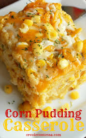 corn recipes for thanksgiving slow cooker cornbread pudding casserole creole contessa