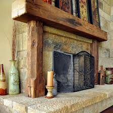 Wood Mantel Shelf Pictures by Mantel Shelf Rough Cut Wood Rustic Fireplace Mantels Custom Cut