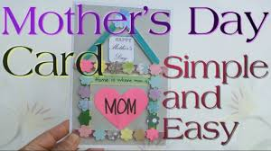 easy mother u0027s day card for kids to make popsicle craft sticks