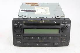 toyota car stereo stock toyota car stereo with cd player model 86120 02440