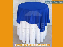 linen tablecloth rentals cocktail tables