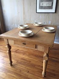 Antique Dining Tables Rustic Italian Pine Dining Table Omero Home