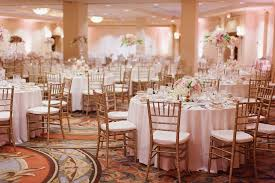 pink white gold wedding gold pink hotel ballroom wedding elizabeth designs the