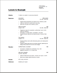 accountant resume format cpa resumes resume onnxrrtn architecture