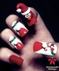 christmas 3d nail art 30 best christmas nail art design ideas