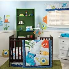Toy Story Crib Bedding Monsters Inc Premier 4 Piece Crib Bedding Set For The Baby