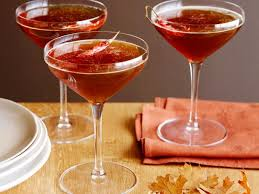 spiced bourbon and maple martinis recipe giada de