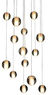 glass sphere pendant light with modern country clear orb lighting