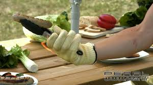 gant kevlar cuisine pe7632 gant anti chaleur