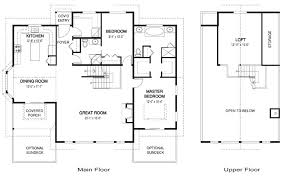 open floor plans with loft house plans liberty 2 linwood custom homes