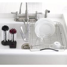 kitchen dish rack ideas in sink dish rack modern kitchen design with tempo stainless