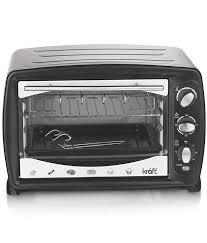 Kraft 23 Ltr Oven Toaster Griller 23 Ltr Otg Microwave Oven Black