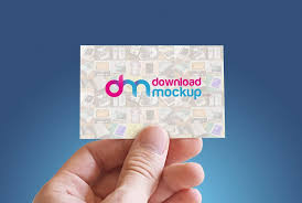 Business Card Mockup Psd Download Download Business Card In Hand Mockup Free Psd At Downloadmockup
