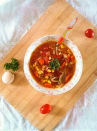 garden vegetable soup and fiesta friday cooking with a wallflower