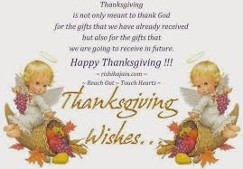 happy thanksgiving day wishes from