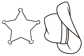 cowboy hat stencil free download clip art free clip art on