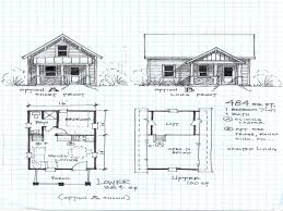 one story cottage plans cabin plans single room plan one bedroom with loft floor small 3