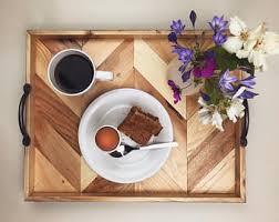 breakfast tray etsy