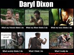 Daryl Dixon Memes - 20 comical the walking dead memes sayingimages com
