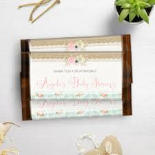 printable shabby chic chocolate bar wrappers candy bar wrappers