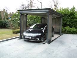 Awesome Car Garages Awesome Car Lifts For Small Garages 9 Tf 3000 Underground