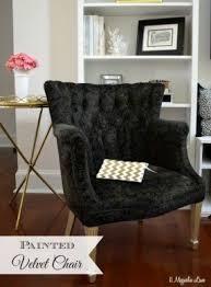 Black Velvet Dining Room Chairs by Black Velvet Chair Foter