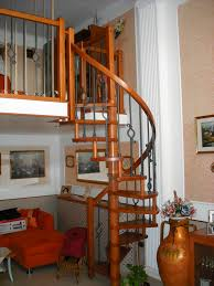 how to use wooden spiral staircase in your interior rooms interior
