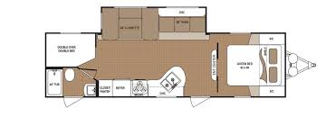 2 Bedroom Travel Trailer Floor Plans Aspen Trail Rv Travel Trailers