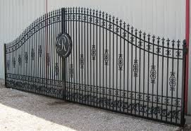 crafted ornamental iron gates highly customized by