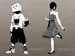 2 stencil ideas by stevonhondersmitt on deviantart