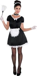 Minnie Mouse Halloween Costume Party French Maid Costume Party Halloweeeeeeeeen