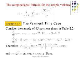 chapter 2 descriptive statistics section 2 3 measures of variation