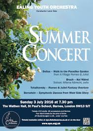 Blue Door Barnes by Ealing Youth Orchestra Eyo Summer Concert U2013 Booking Now Open
