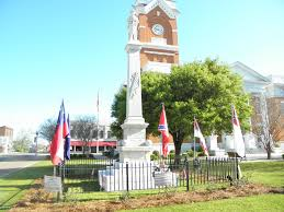 Facts About Georgia State Flag The Confederate Memorial In Statesboro Georgia Located At The