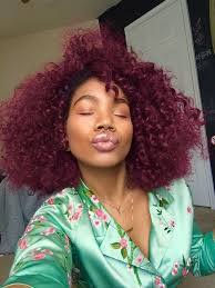 where can you find afro american hair for weaving best 25 burgundy natural hair ideas on pinterest burgundy curly