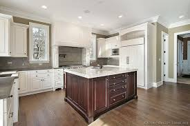 Building Traditional Kitchen Cabinets Traditional Two Tone Kitchen Cabinets 227 Kitchen Design Ideas