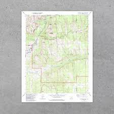map of zion national park zion national park 1980 usgs map