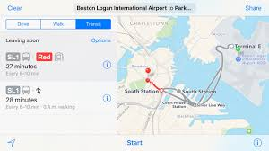 Amtrak Northeast Regional Map by Apple Maps Adds Amtrak Routes Boston Transit Directions Ilounge