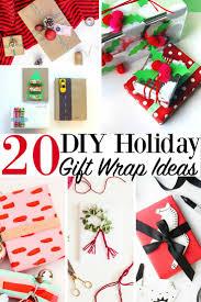 christmas wrap 20 diy gift wrap ideas christmas presents