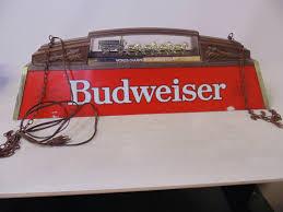 vintage budweiser pool table light beer logo pool table lights best table decoration