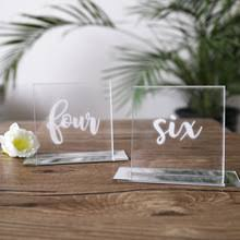 acrylic table numbers wedding buy acrylic table number and get free shipping on aliexpress com